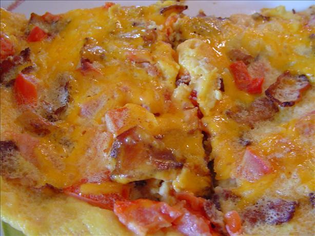 Bacon Tomato Frittata