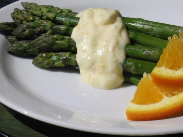 Asparagus With Low Fat Orange Sauce