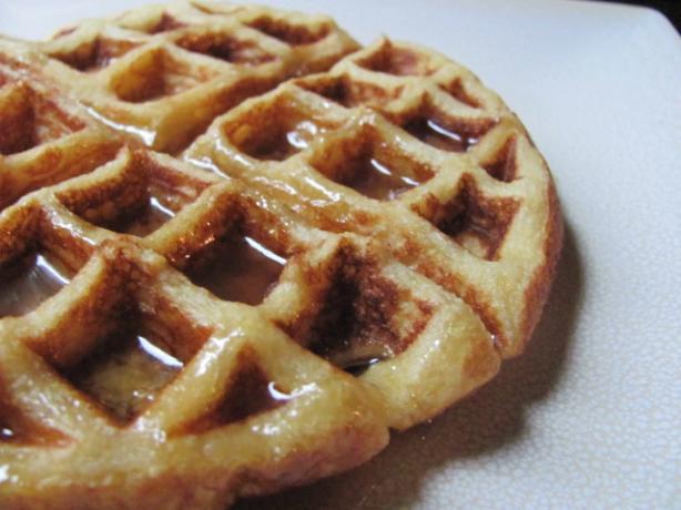 Crispy Cornmeal Waffles