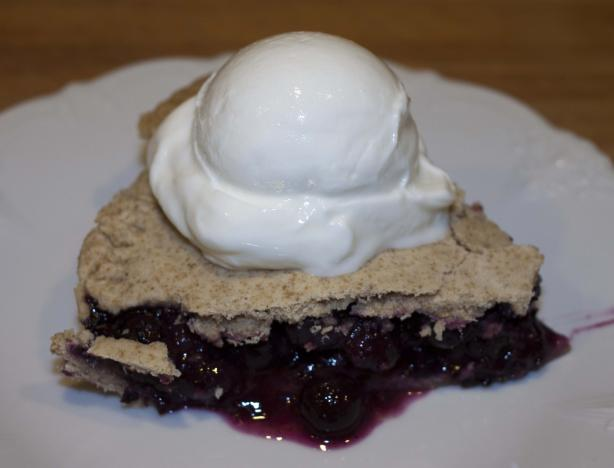 Blue Mountain Blueberry Pie