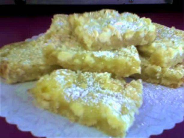 Vanilla Chip Lemon Bars