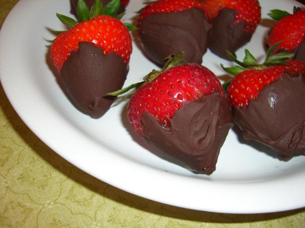 Mayan Chocolate Dipped Strawberries