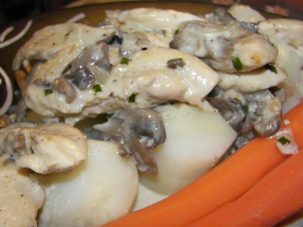 Geschnetzeltes (Chicken in Cream Sauce)