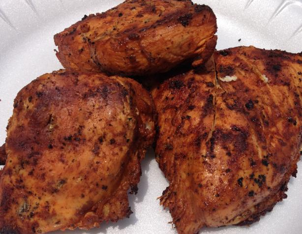 African Grilled Chicken Breast