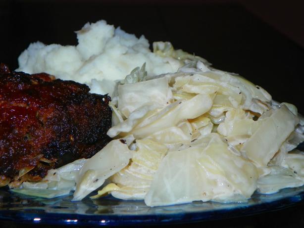 Braised Coconut Cabbage