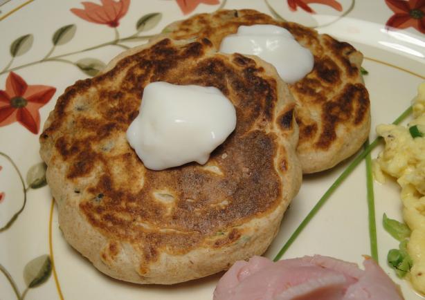 Mushroom Hotcakes/Pancakes