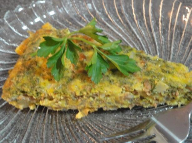 Baked Omelet With Meat (Irgee)