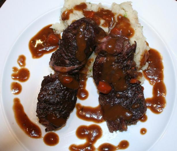 Red Wine Braised Short Rib