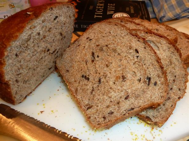Whole Wheat Bread With Sunflower Seeds