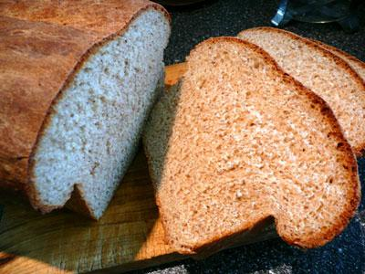 Bread Machine Cracked Wheat & Flax Seed Bread