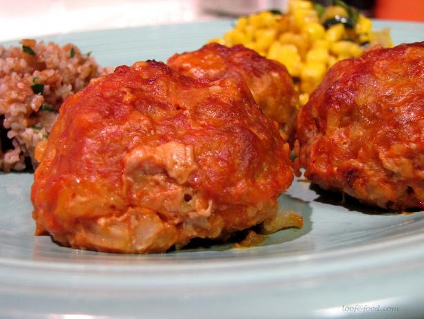 Ultra Simple Porcupine Meatballs in Tomato Sauce