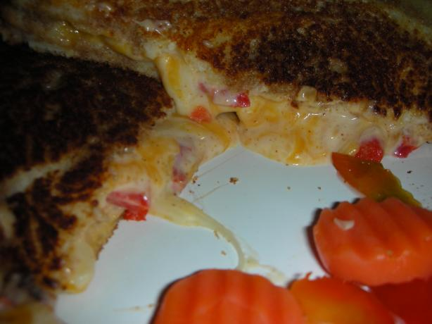 A Different Grilled Cheese Sammich