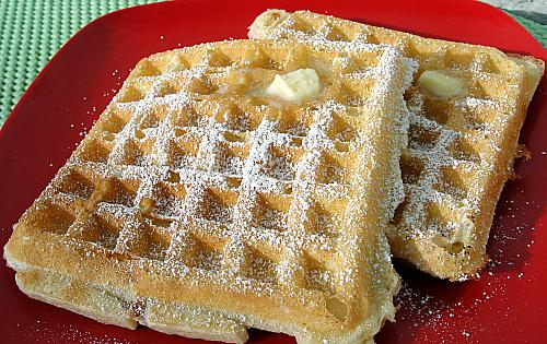 Sunday Supper Waffles