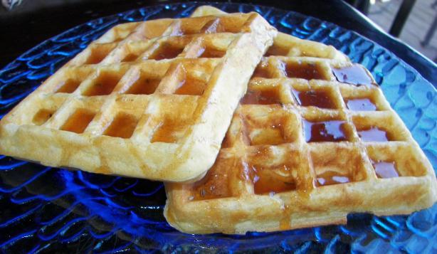 George Washington's Rice Waffles