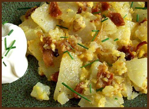 Cheesy Potato Bacon Packets for the Grill