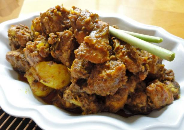 Thai-Indonesian Rendang Curry