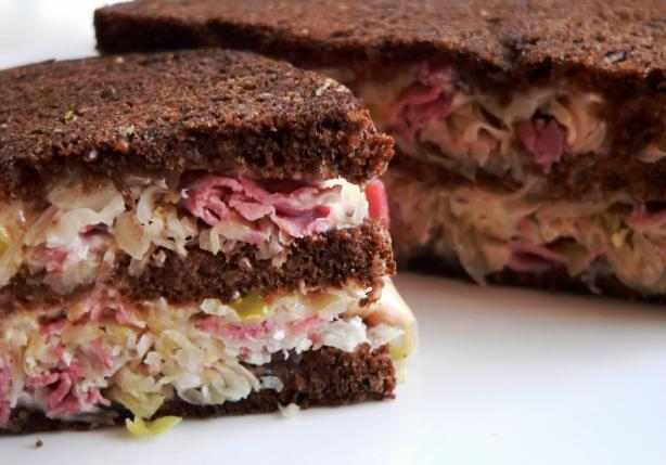 Stacked Reuben Sandwich