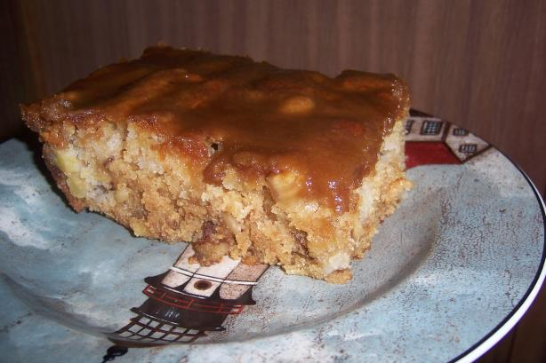Sarah's Caramel Apple Cake