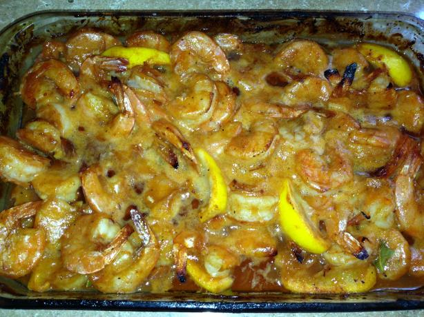 Oven-Baked BBQ Shrimp