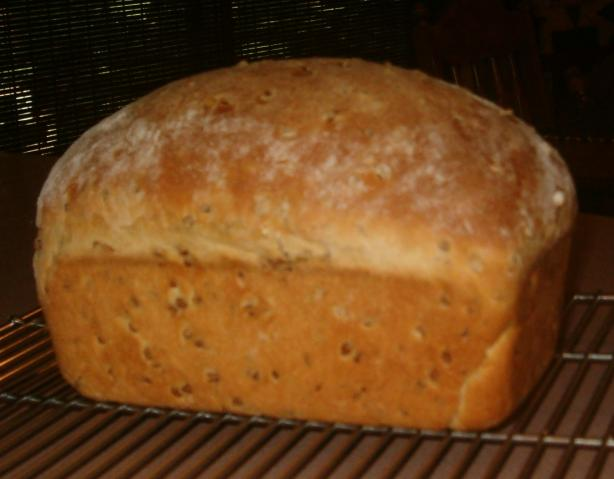 Honey Wheat Berry Bread