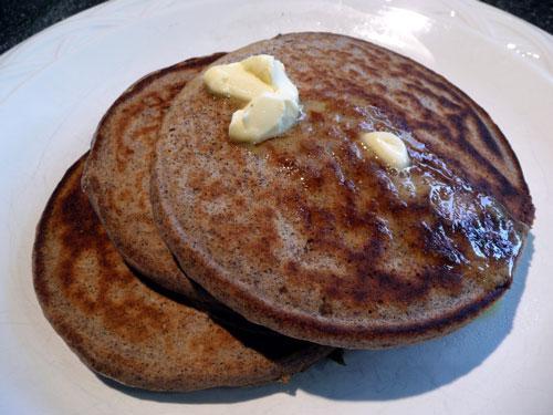 Buckwheat Spice Pancakes