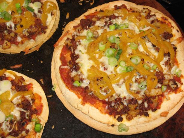 Mexican Potato & Chorizo Tortilla