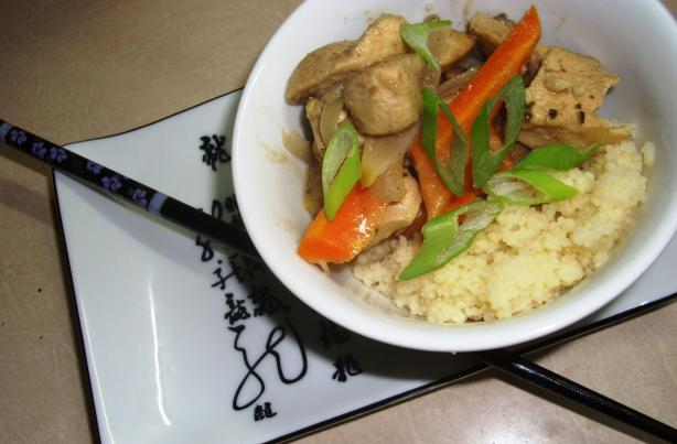 Easy Chicken Curry and Couscous