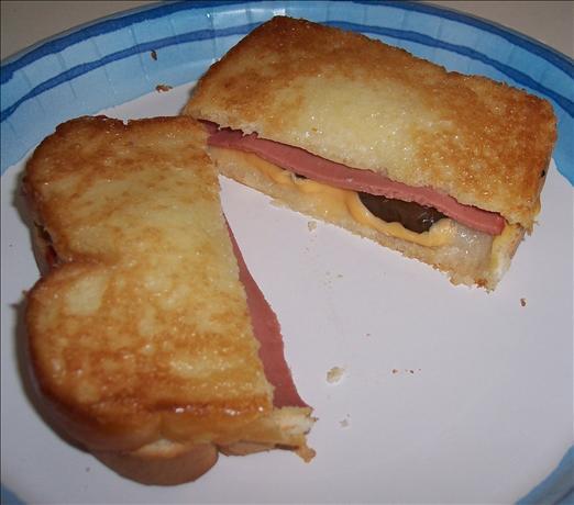 Bologna Griller Oven Toasted Deli Sandwich
