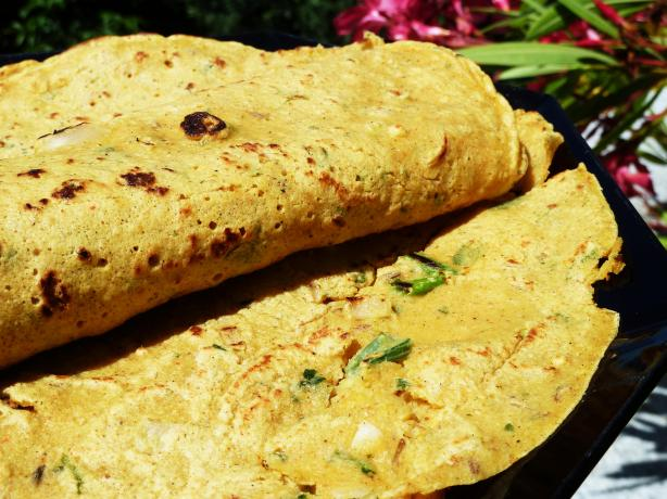 Pudla - Besan Chickpea Pancake
