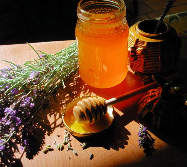 Homemade Lavender Honey from South West France