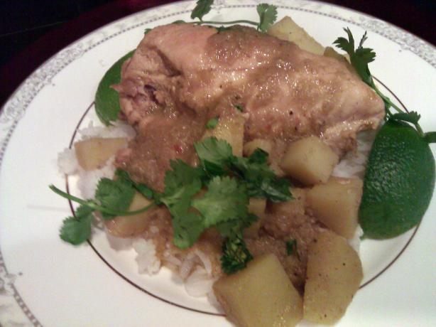 Chicken Lemongrass and Potato Curry - Adapted from Andrea Nguyen