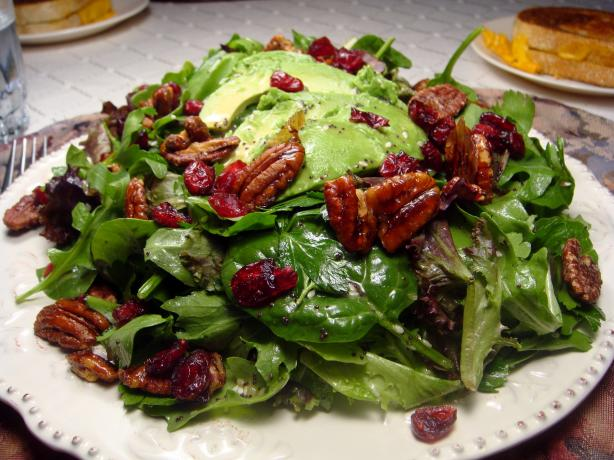 Cranberry Avocado Salad W/Sweet Balsamic Vinaigrette