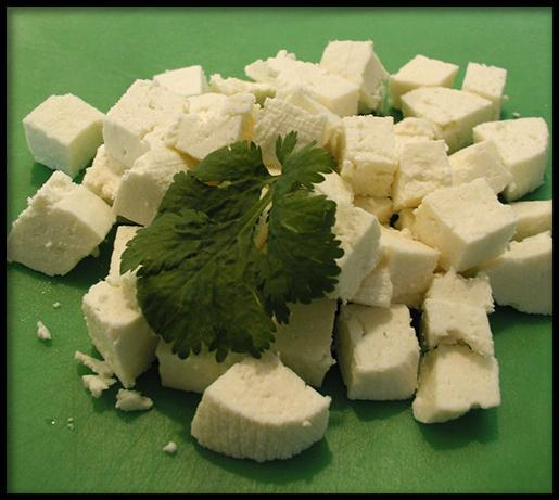 Homemade Paneer (Panir - Indian Cheese)
