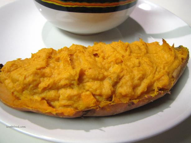 Sweet Twice Baked Sweet Potatoes