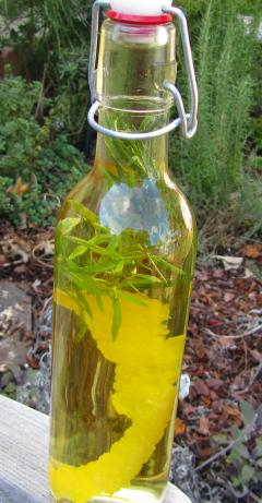 Lemon-Tarragon Vinegar