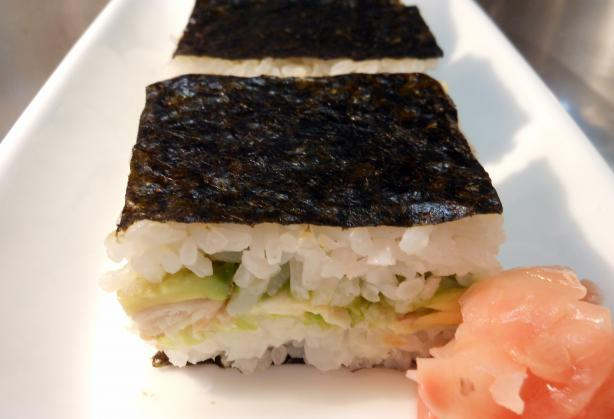 Salmon Nori Slice (Or Bar)