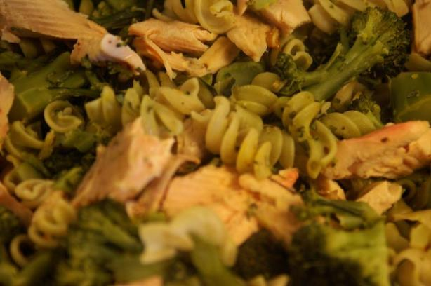 Broccoli Pasta With Salmon