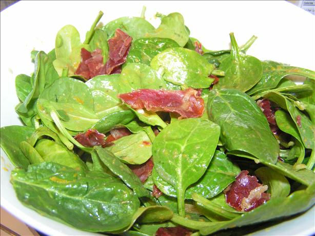 Spinach Salad With Orange Vinaigrette