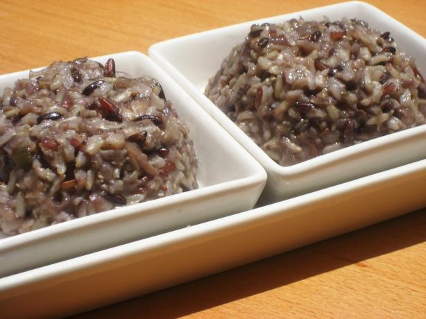 Pacific Northwest Mushroom & Wild Rice Pilaf