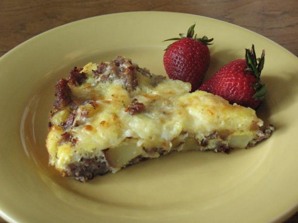Breakfast Skillet Frittata