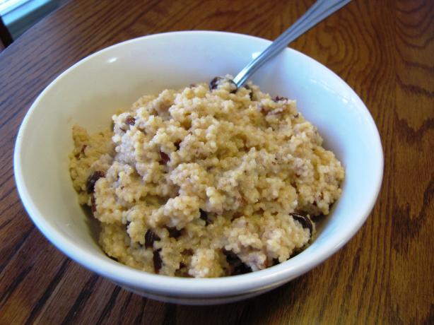 Cherry-Walnut Breakfast Couscous