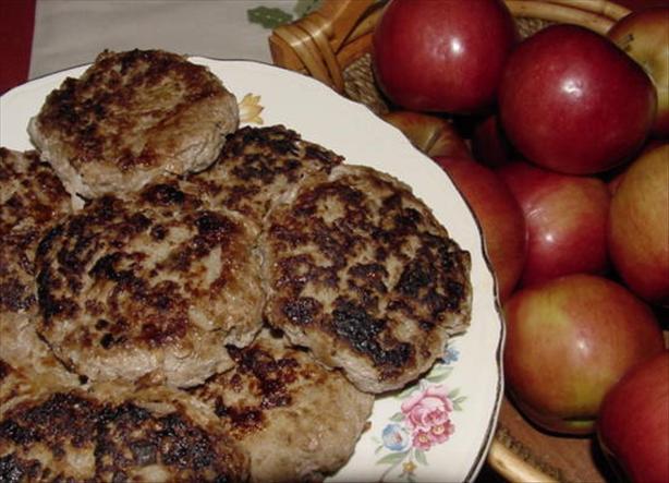 Homemade Turkey & Apple Sausage