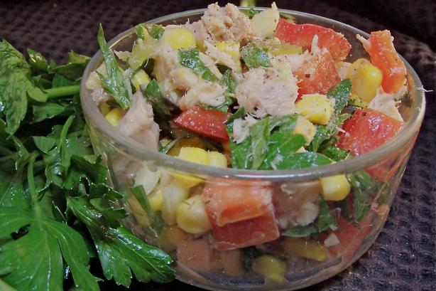 Corn Salad With Tuna