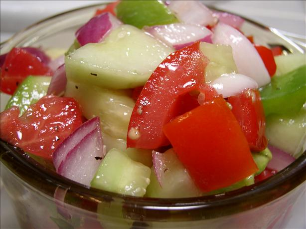 Simple 1-2-3 Marinated Vegetable Salad