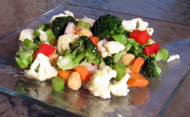 Marinated Vegetable and Bean Salad