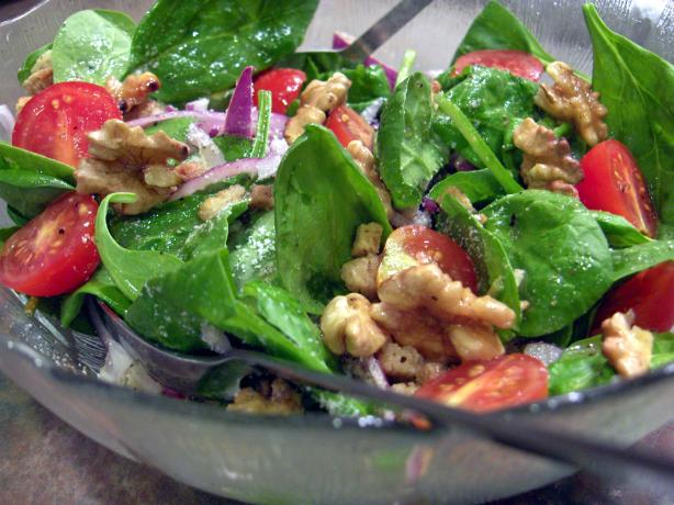Spinach and Red Onion Salad