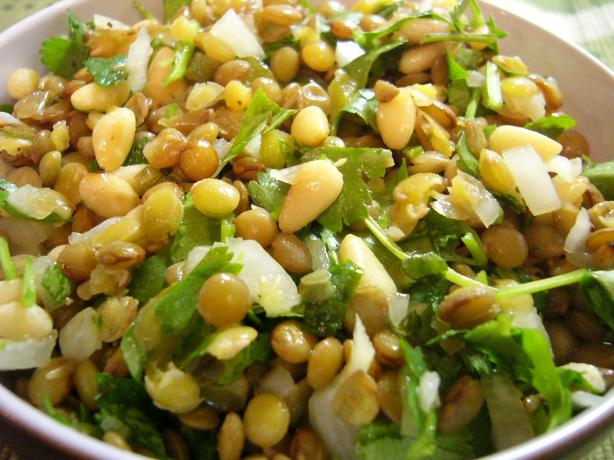 Salad of Lentils and Coriander