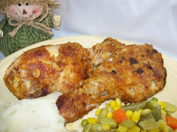 Extra-Crispy Garlic Baked Chicken