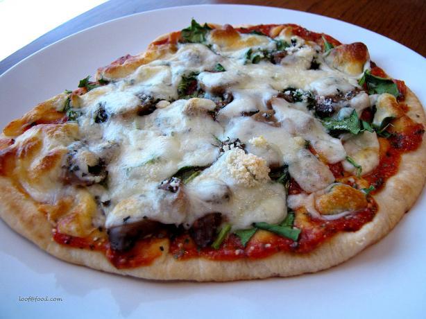 Meatless Pita Pizza