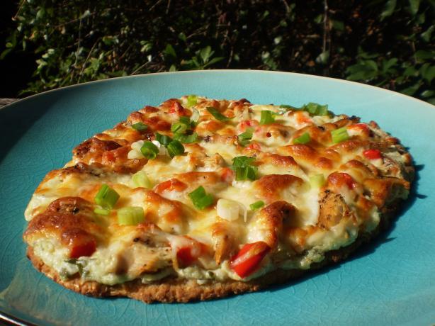 Naan Chicken Pizza